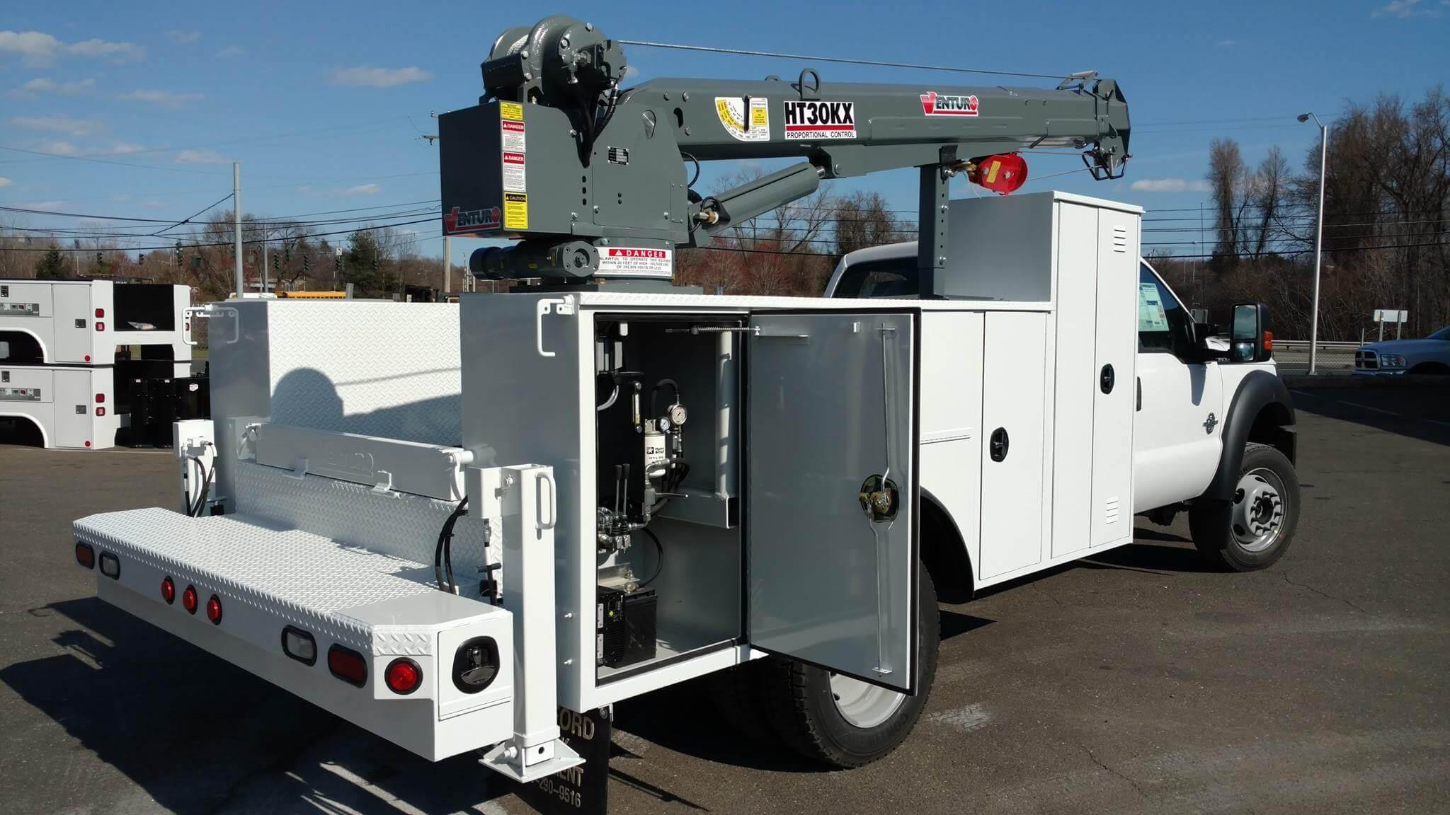 Venturo Hydraulic Crane