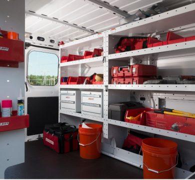 Commercial Van Equipment