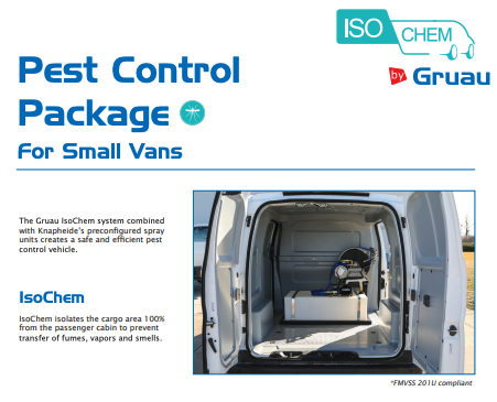 Gruau Pest Control Package for Small Vans