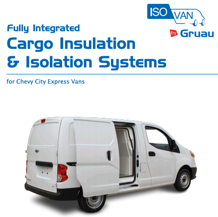Gruau Cargo Insulation and Isolation Systems Chevy City Express