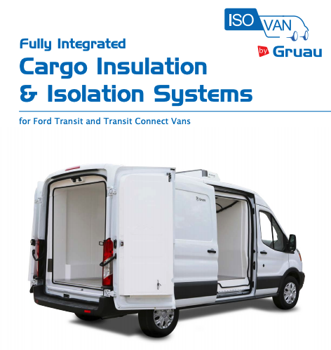 Gruau Cargo Insulation & Isolation Systems Ford Transit and Transit Connect Vans