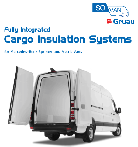 Gruau Cargo Insulation Systems Mercedes-Benz Sprinter and Metris Vans