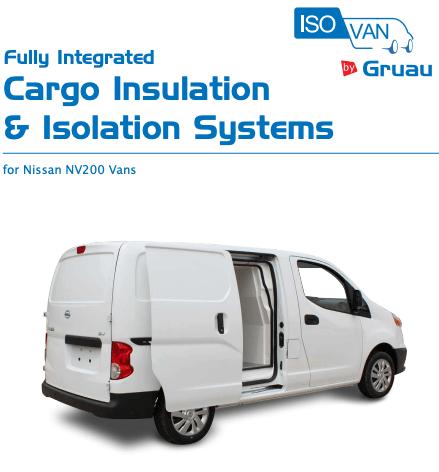 Gruau Cargo & Insulation Systems Nissan N200 Vans