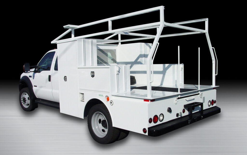 Phenix Custom Utility Welding Truck Body