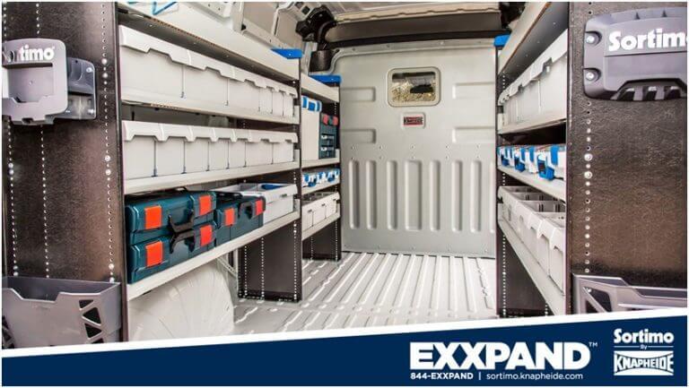 Sortimo Exxpand Van Shelving